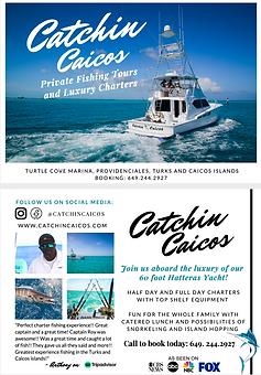 Catchin' Caicos Flyer