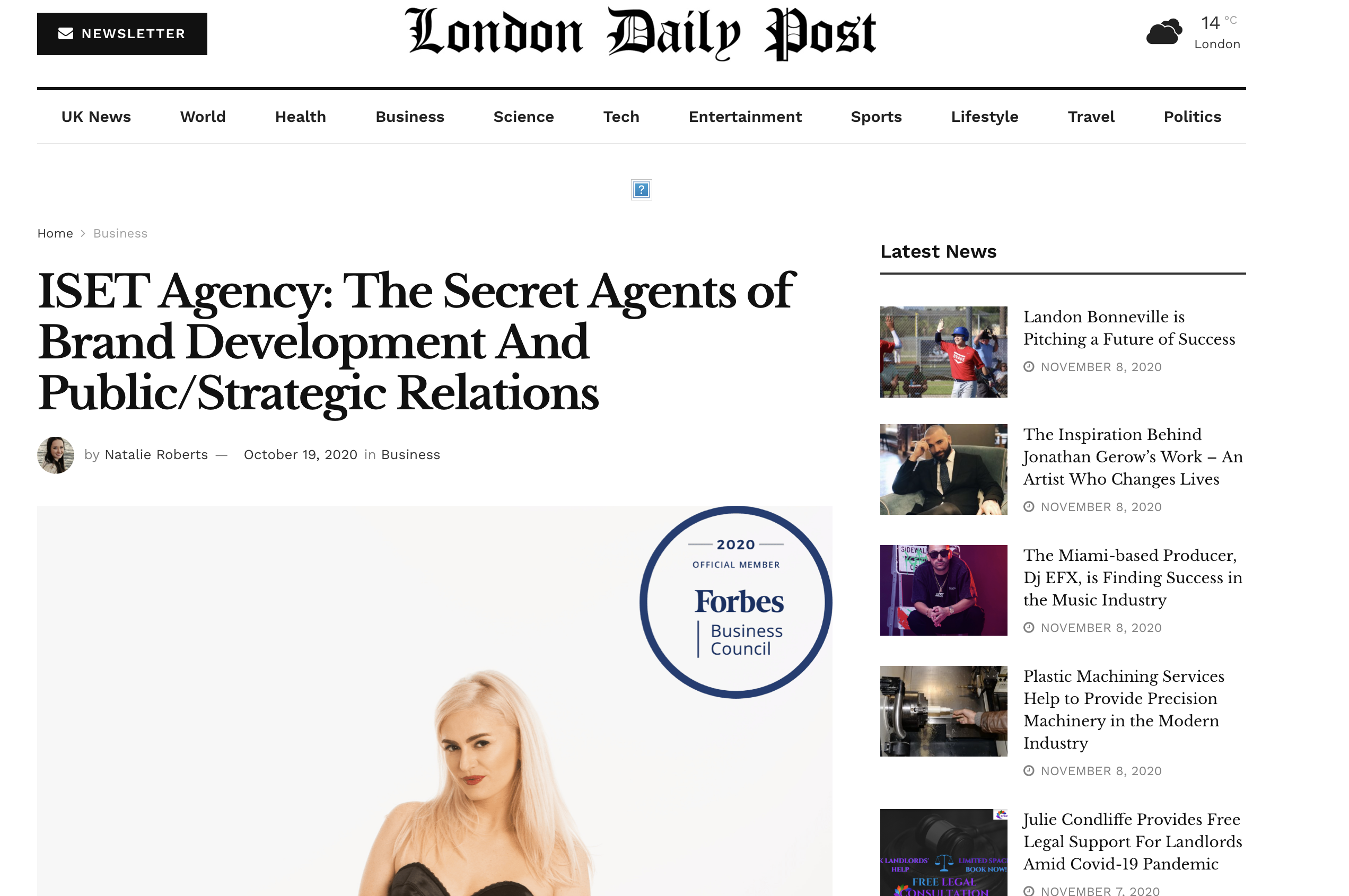 The London Daily Post