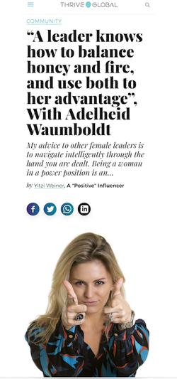 Medium with Adelheid Waumboldt