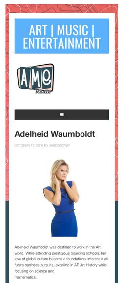 AME Radio with Adelheid Waumboldt