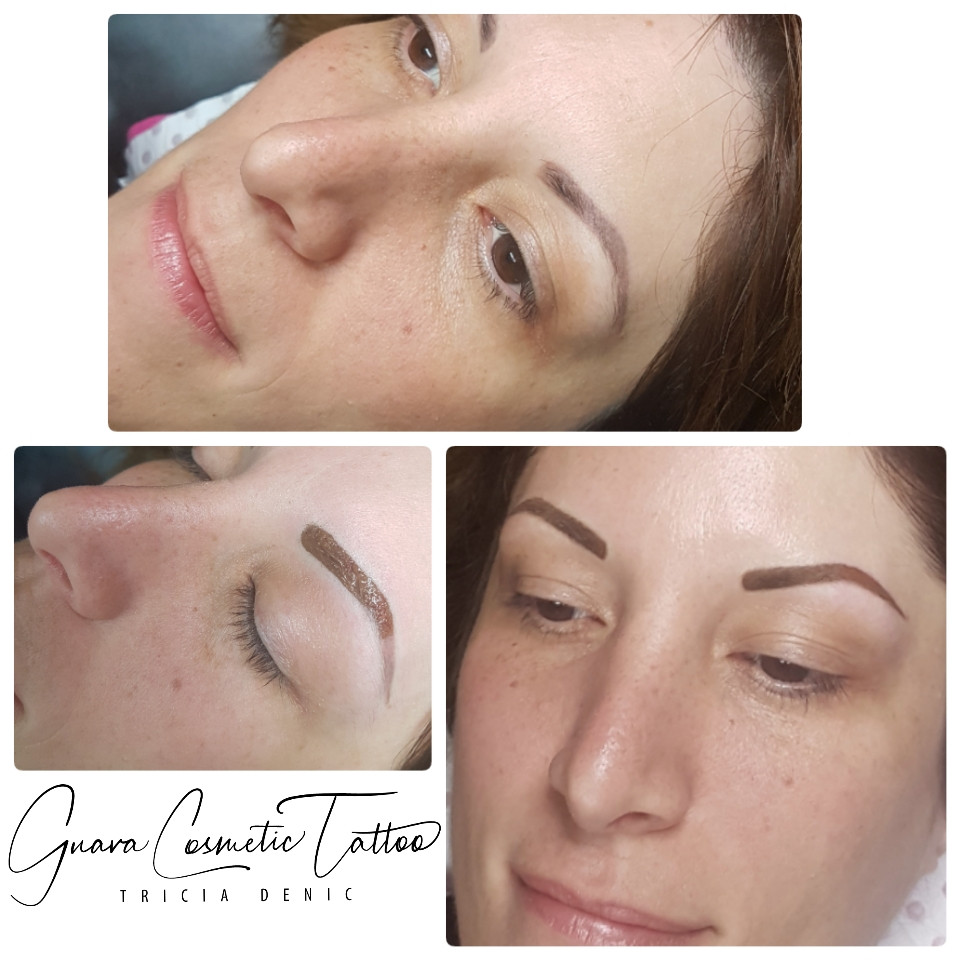 Before & After Powder Brow Boost