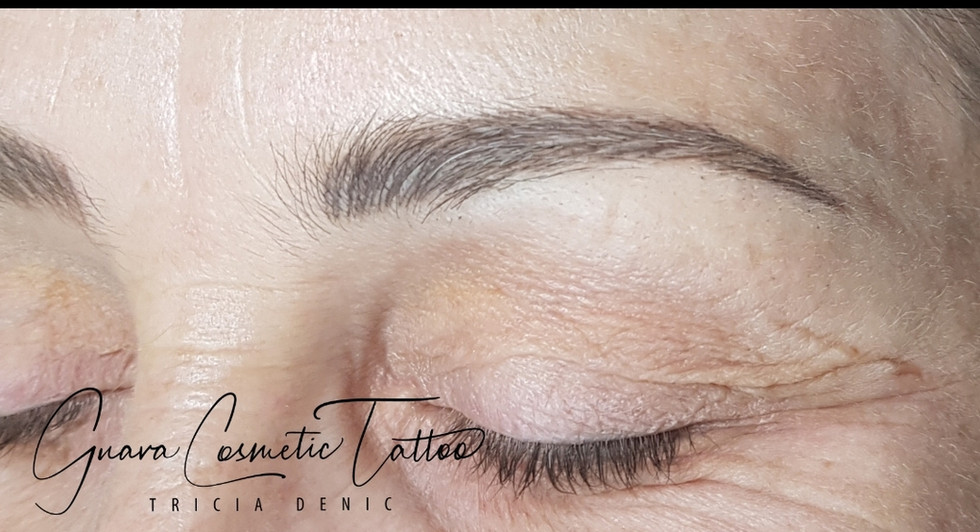 Healed Feathered Brows