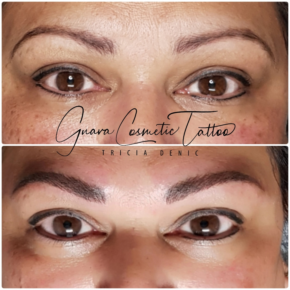 Before & Immediately After Eyeline & Brow Boost