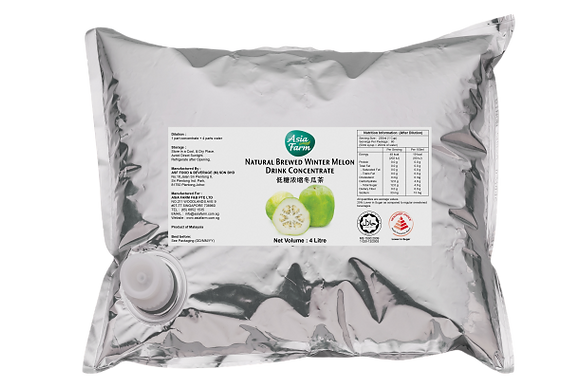 Natural Brewed Winter Melon Drink Concentrate