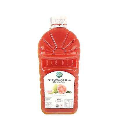 Asia Farm Healthier Choice Pink Guava Cordial