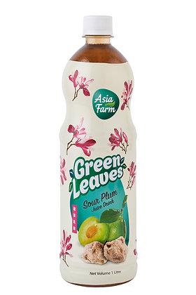 Green Leaves 1L Sour Plum Juice (12's x 1L)