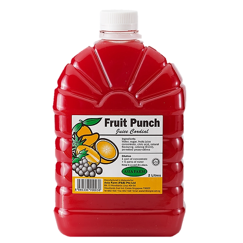 Fruit Punch Juice Cordial (2 Litres)