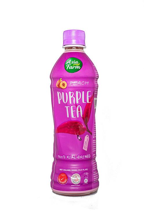 Purple Tea Peach Flavour (24 x 500ml)