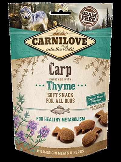 Carnilove semi moist treats- Carp and Thyme
