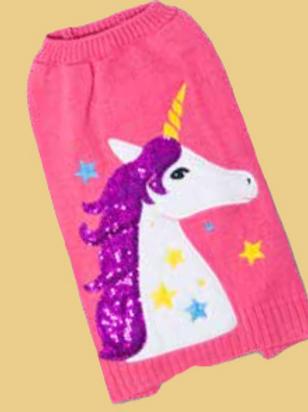 Glitzy Unicorn Jumper