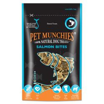 Pet Munchies - Salmon Skin Fish Cubes