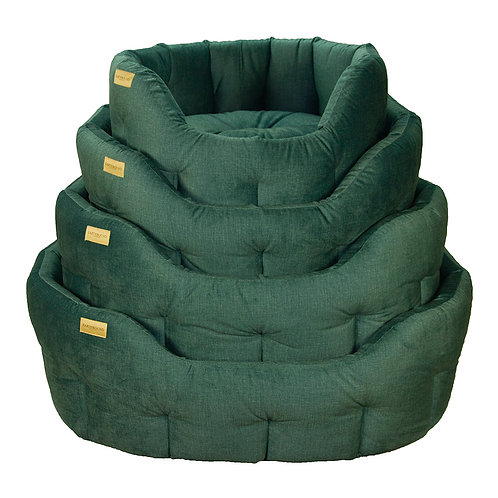 Earthbound Henbury - Teal Green Bed