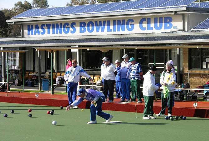 Hastings Bowling Club facade