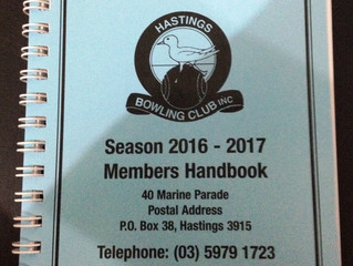 Now available the 2016-2017 Club Handbook