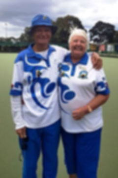 Joe Attard & Bev Treloar