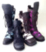 Red Frog Boots - tall boots