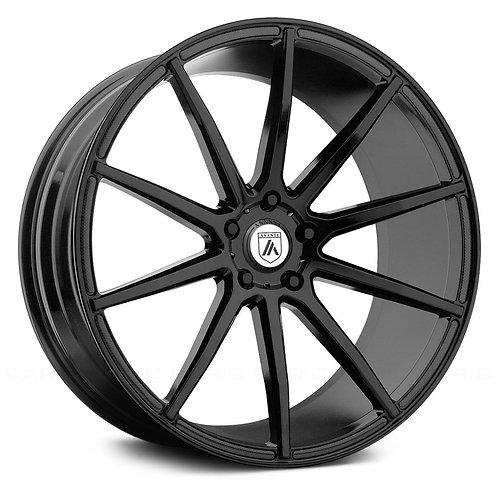 Rin 20x10 Asanti ABL-20 Black