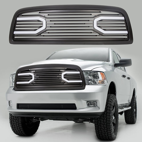 Parrilla Con Led Dodge Ram 2009-2012