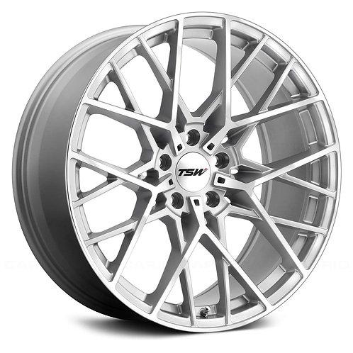 Rin 18x9.5 TSW Sebring Silver