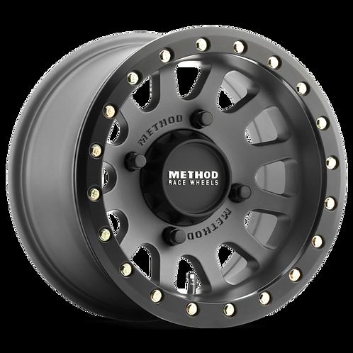 Rin 15x7 Method MR401 Beadlock Titanium