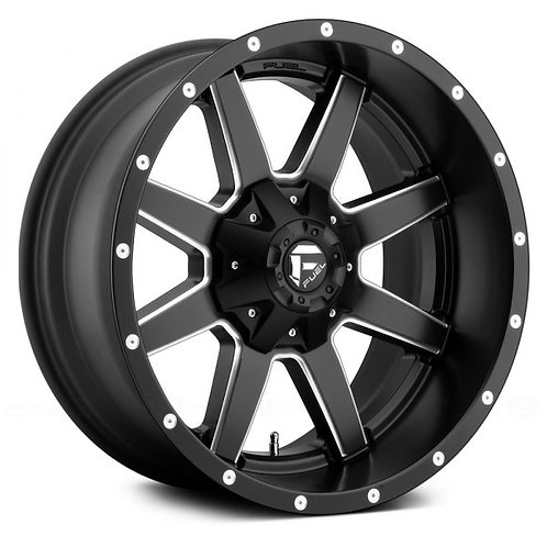 Rin 15x7 Fuel Maverick Black