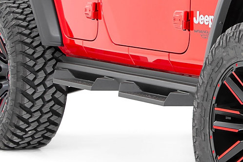 Estribos Rough  DS2 Country Jeep JL