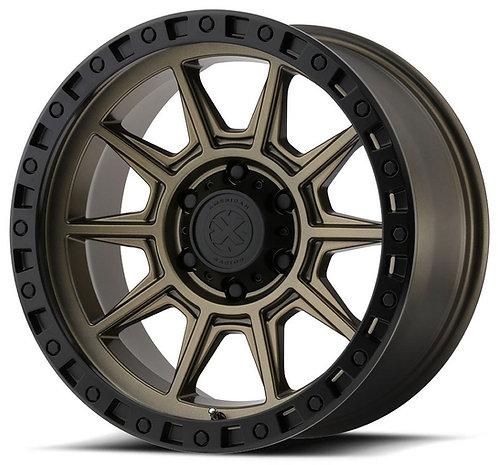 18x9 American Racing ATX AX202 Bronze