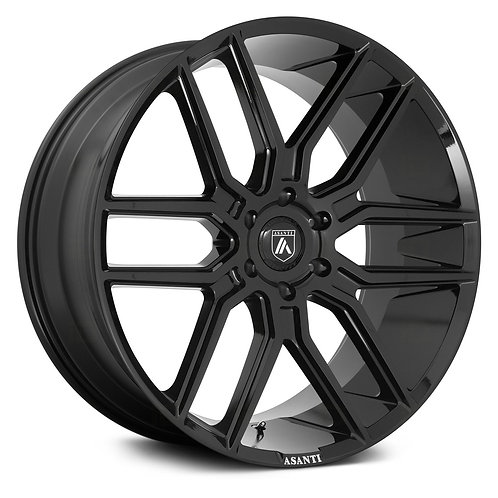 24x10 Asanti ABL-28 Black