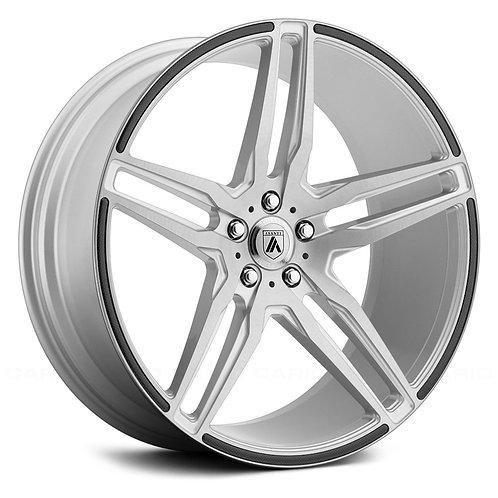 20x10.5 Asanti ABL-12 Silver