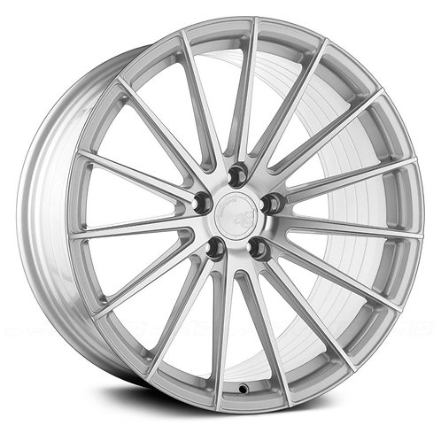 19x8.5 Avant Garde M615 Silver Machined (Rotary Forged)