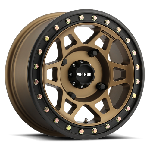 Rin 15x7 Method MR405 Beadlock Bronze
