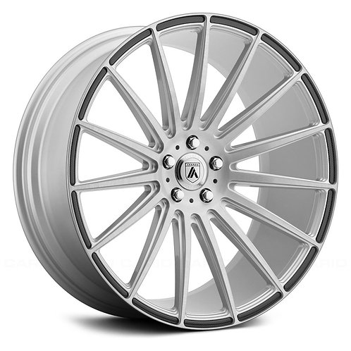 22x9 Asanti ABL-14 Silver