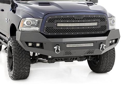 Facia de Acero con Barra Led y Par de Spots Led Dodge Ram 2009-2018