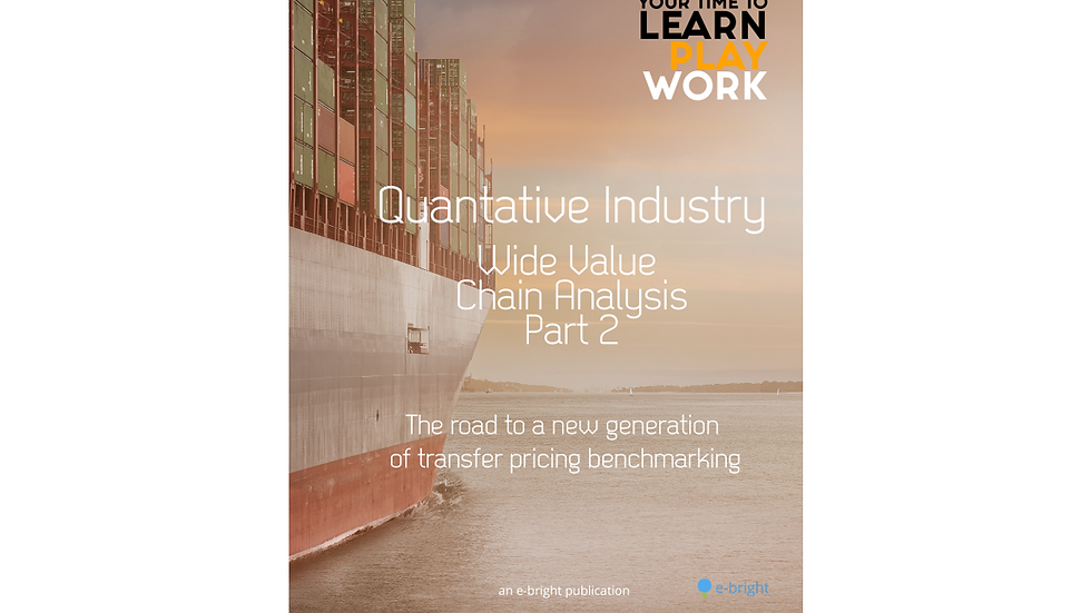 Quantitative Industry Wide Value Chain Analysis (Part 2)