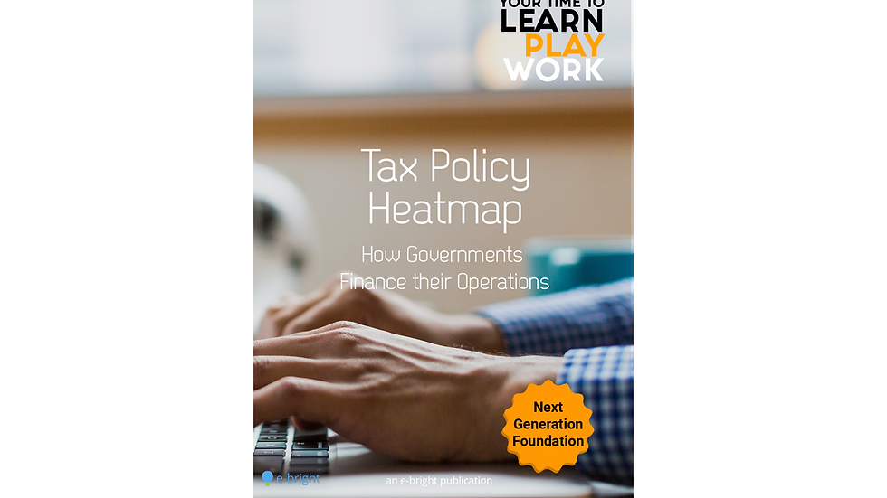 Tax Policy Heatmap - How Governments finance their operations