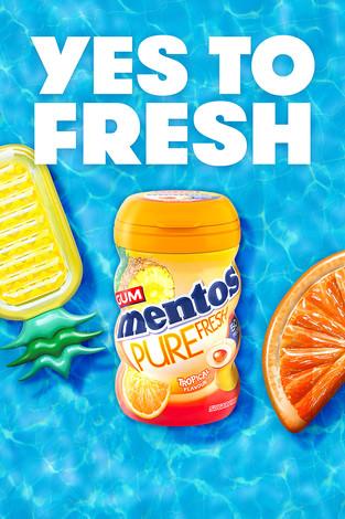 Mentos Yes to Fresh