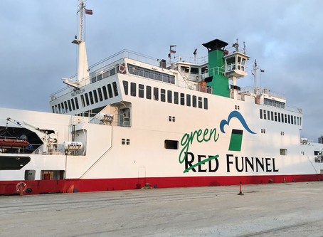 Walker Helps Red Funnel Go Green