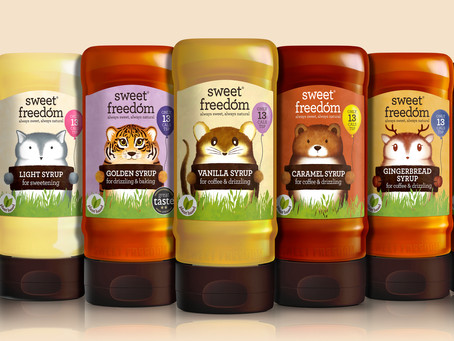 Fresh New Packaging for Sweet Freedom