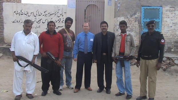 Pakistan - 2011Armed Guard.JPG