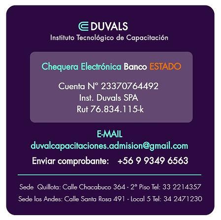Chequera Electronica Banco Estado Duvals