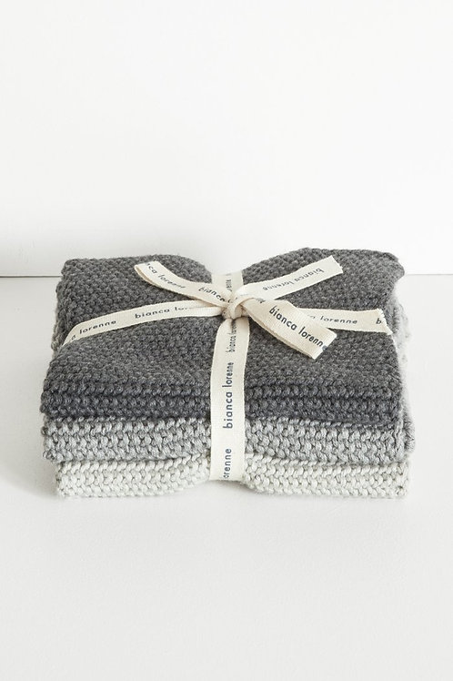 Wash Cloths - Grey