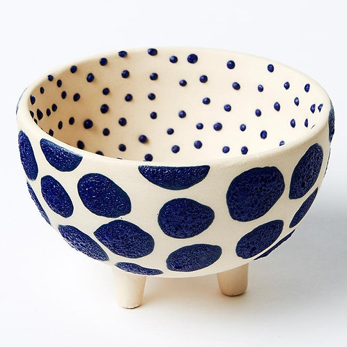 Lennox Cobalt Footed Bowl