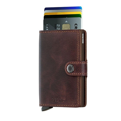 Secrid Wallet -vintage chocolate