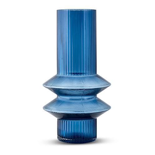 Memphis Vase- Ink Blue (L)