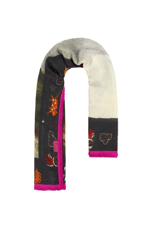 Woodland Blue scarf