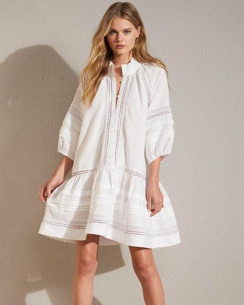 MINGLE DRESS white 1
