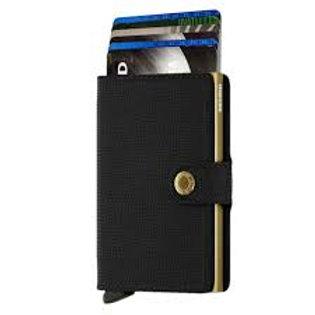Secrid Wallet - Crisple Black Gold