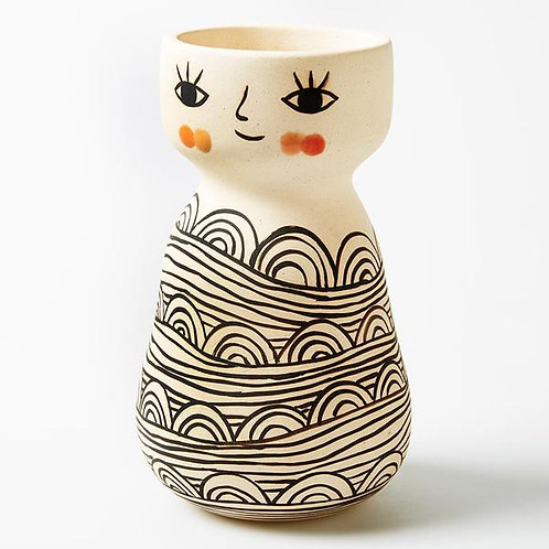 Face Vase - Miss Cozette