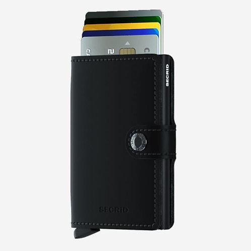 Secrid Mini Wallet- Matt Black