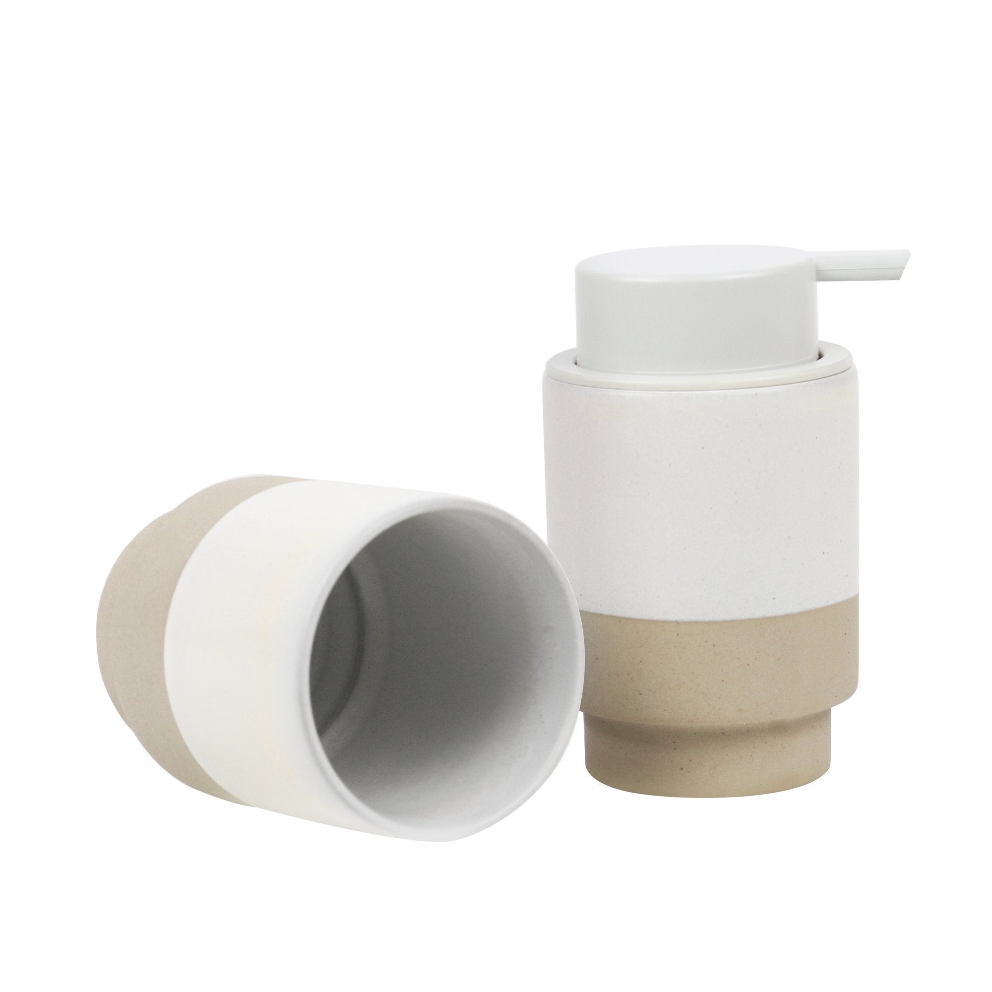 RG soap pump white 1